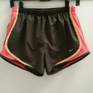 Nike Dri-Fit Lined Running Shorts Size Medium